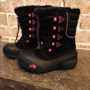 The North Face Snow Boots. Toddler Girl Size 13